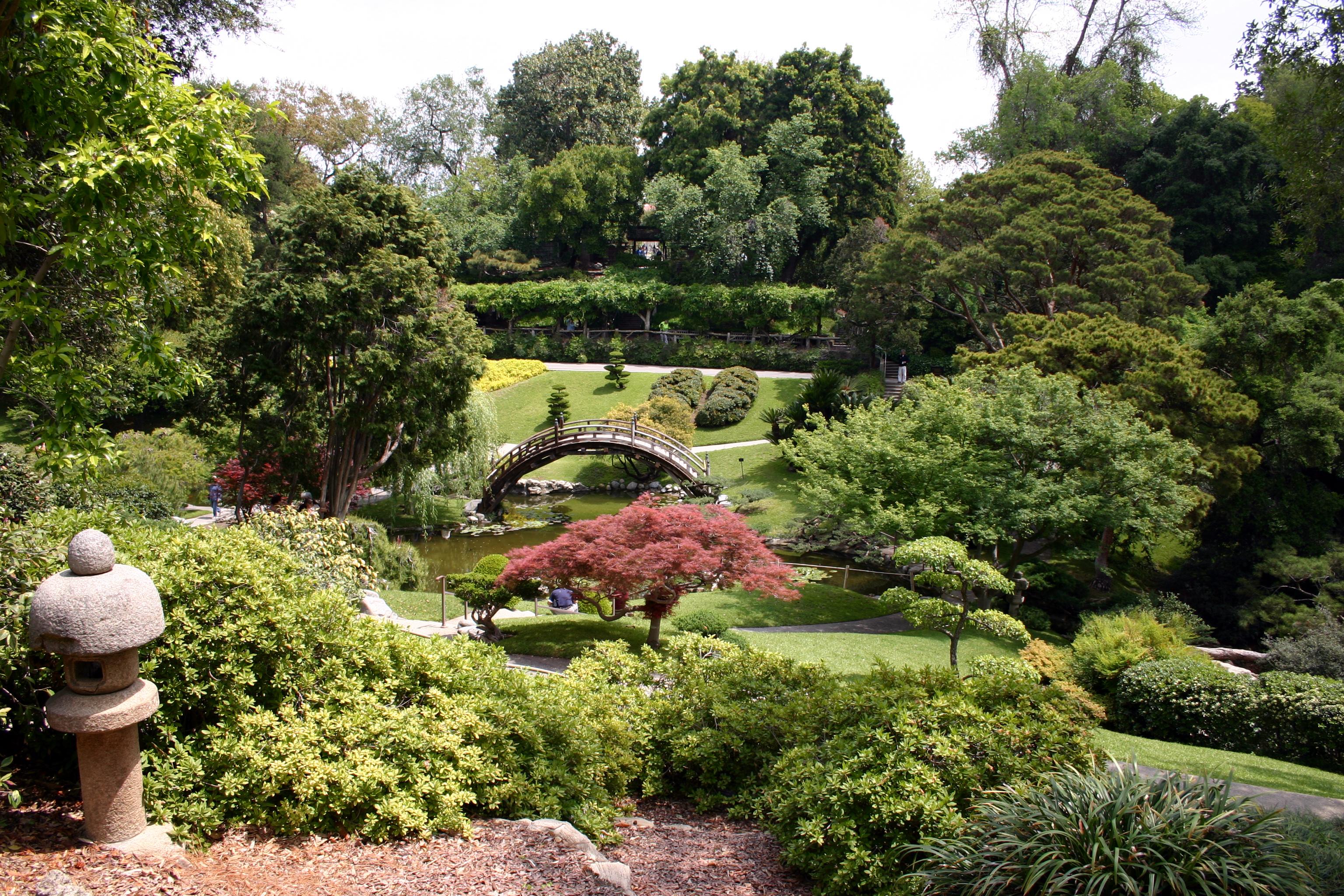 Japanese gardens at the huntington explore california - Huntington beach botanical garden ...